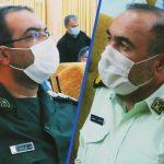 پیام تبریک فرمانده سپاه ناحیه فراشبند به مناسبت هفته نیروی انتظامی