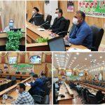 برگزاری نشست ستاد شهرستانی مدیریت و کنترل بیماری کرونا در فراشبند