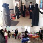 با هدف نظارت بر رعایت پروتکلهای بهداشتی از مدارس فراشبند بازدید شد