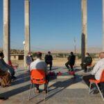 مقبره مطهر شهید گمنام در فراشبند، مرمت و بهسازی می شود