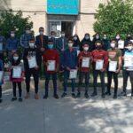 نتایج مسابقات قهرمانی انجمن ووشو کارگران استان فارس گرامیداشت هفته کارگر و ماه مبارک رمضان