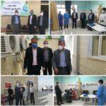 بازدید کارشناس ناظر دانشگاه علوم پزشکی شیراز از مرکز واکسیناسیون فراشبند