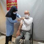 تزریق نخستین دوز واکسن ایرانی کووبرکت در شهرستان فراشبند