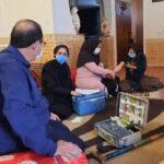راه اندازی تیم سیار واکسیناسیون در شهرستان فراشبند