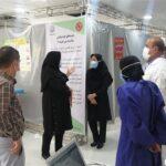بررسی روند واکسیناسیون کووید۱۹ در فراشبند با حضور ناظر معاونت بهداشت دانشگاه علوم پزشکی شیراز