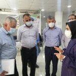 بررسی نحوه ارائه خدمات در مراکز تجمیعی واکسیناسیون کرونا در شهرستان فراشبند با حضور بازرس وزارت بهداشت، درمان و آموزش پزشکی