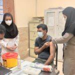 تیم های سیار واکسیناسیون در خدمت مناطق روستایی فراشبند