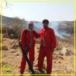 اطفا حریق کوههای خور شهرستان فراشبند