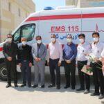 تقدیر از رئیس و کارکنان اورژانس ۱۱۵ شهرستان فراشبند به مناسبت روز اورژانس و فوریت های پزشکی